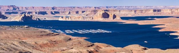 Lake powell page arizona usa panorama