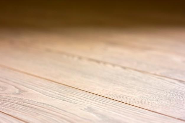 Laminat desek zamazanego tła drewniana tekstura