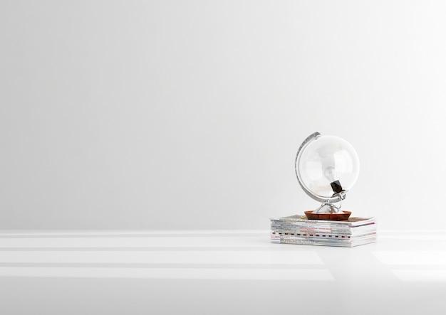 Lampa w stylu globe