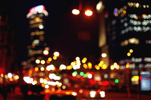 Lampki nocne miasta
