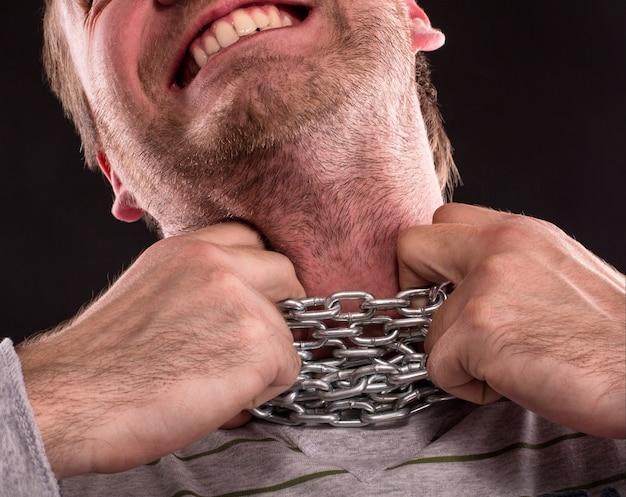 Łańcuszek na szyi
