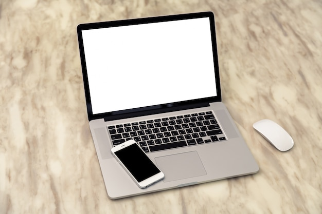 Laptop z telefonu komórkowego na
