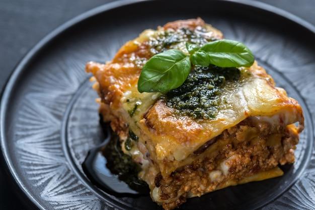 Lasagne z pesto