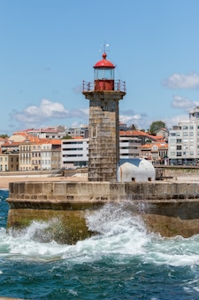 Latarnia morska w foz of douro
