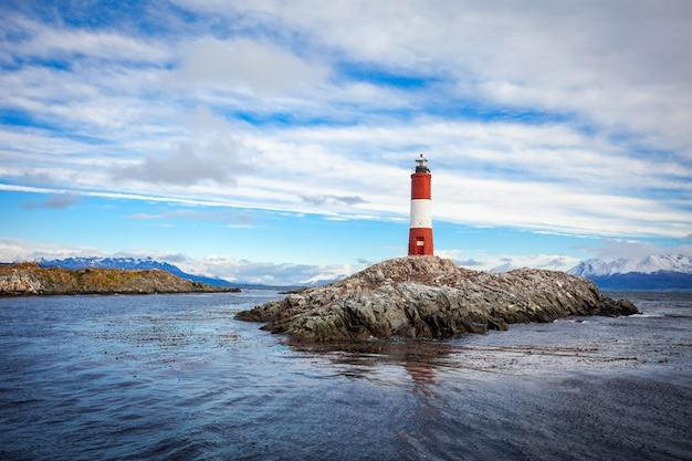 Latarnia morska w les eclaireurs, ushuaia