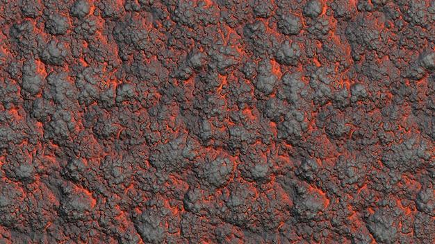 Lawa tekstura