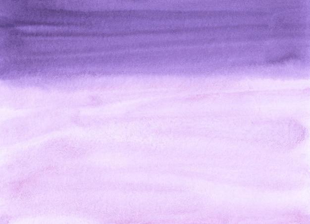Lawenda akwarela i białe tło tekstura. aquarelle fioletowe tło pociągnięcia pędzlem. szablon poziomy.