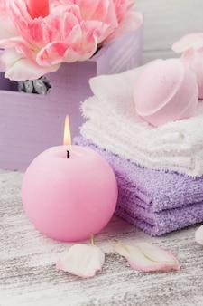 Lawendowe bomby do kąpieli i mydła