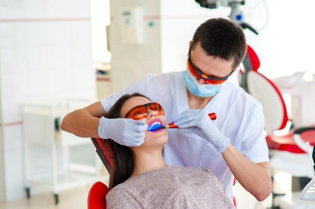 Leczenie próchnicy, współczesna medycyna. stomatologia.