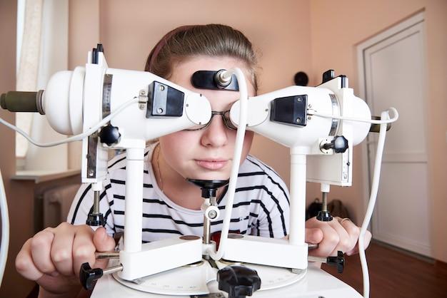 Leczenie sprzętowe chorób oczu.