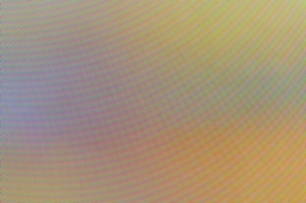 Led neonowe tło ekranu cyfrowy ekran monitor komputerowy kolorowa tekstura pikseli wysoka