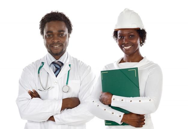 Lekarz i inżynier afrykańskich amerykanów