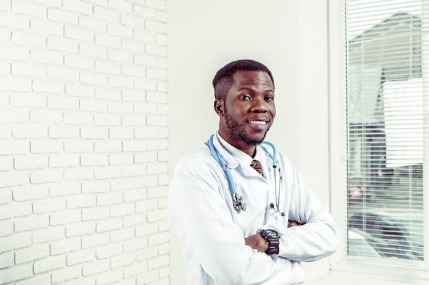 Lekarz medycyny lekarz mężczyzna
