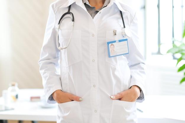 Lekarz w pracy
