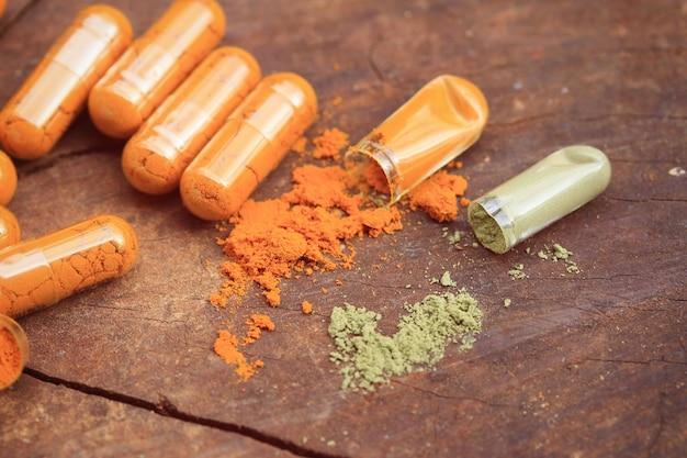 Leki ziołowe w kapsułce