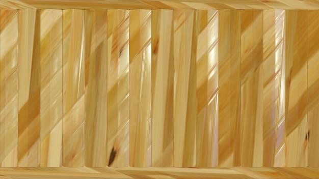 Lekka struktura drewna