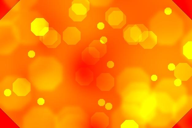 Lekkie abstrakcyjne tło bokeh przez rozmycie lub rozmycie przy użyciu lekkiego elementu do tła lub tapety w obchodach świąt bożego narodzenia w nowym roku diwali