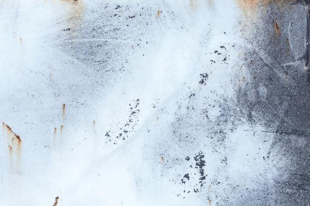 Lekkie zużyte tło zardzewiały metal tekstury. efekt vintage.