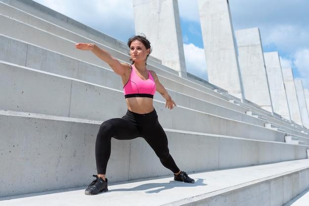 Lekkoatletka, ćwiczenia na świeżym powietrzu