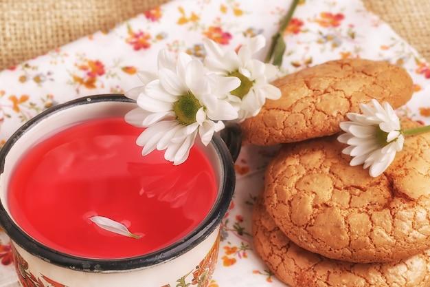 Letni sok jagodowy