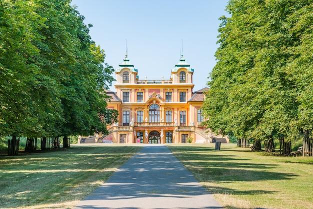 Letnia rezydencja królów, ludwigsburg, badenia-wirtembergia, południowe niemcy