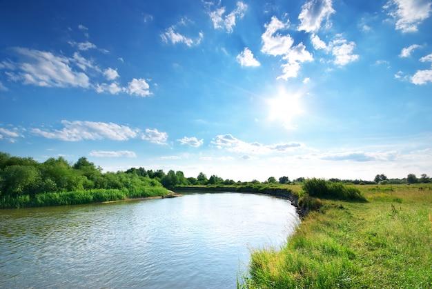 Letnia rzeka