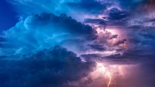 Letnie burze z piorunami