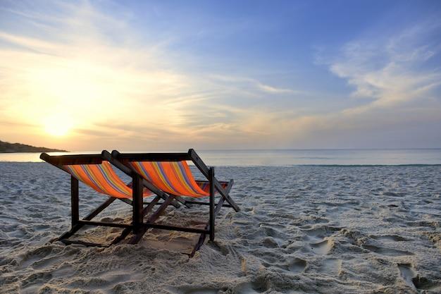 Leżak i morze