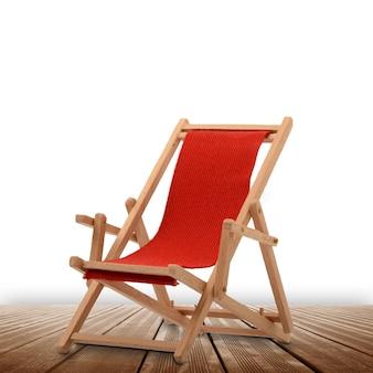 Leżak plażowy