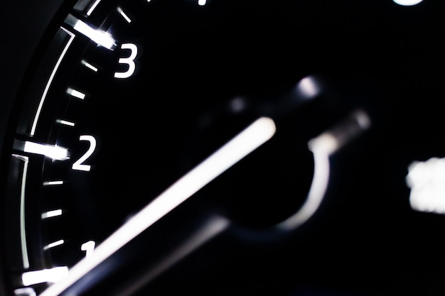 Licznik prędkości zamknąć samochód