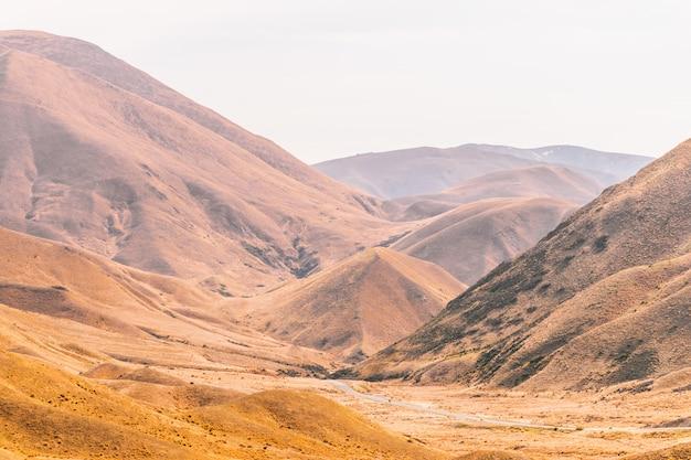 Lindis pass, nowa zelandia