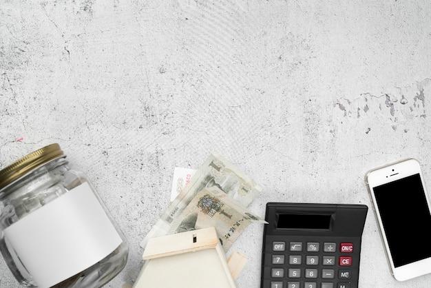 Linia elementów finansowych
