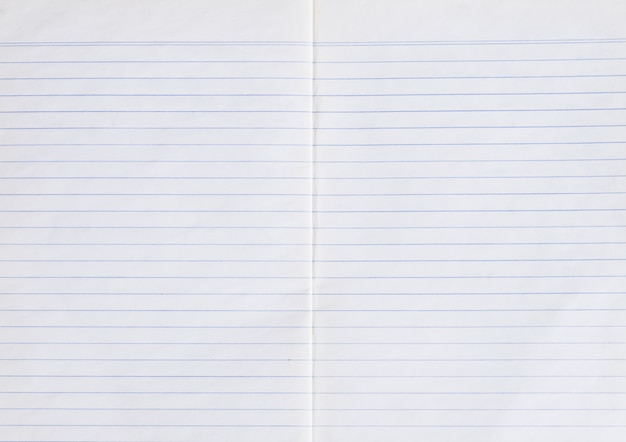 Linia stary papier używany biorąc i pusty arkusz notatnik