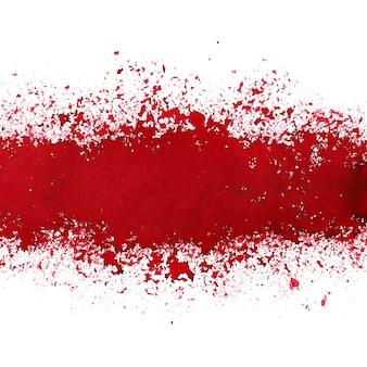 Linia z czerwonym atramentem. streszczenie tło grunge. miejsce na własny tekst
