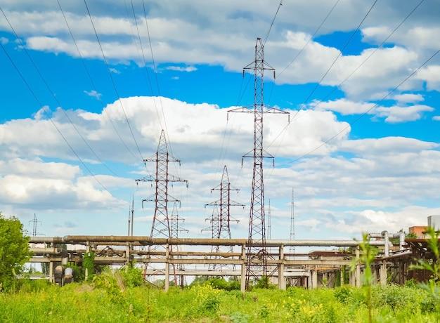Linie i rury energetyczne