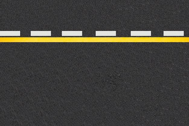 Linie ruchu na tle dróg utwardzonych