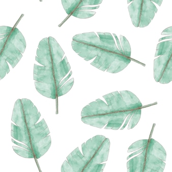 Liście roślin tropikalnych