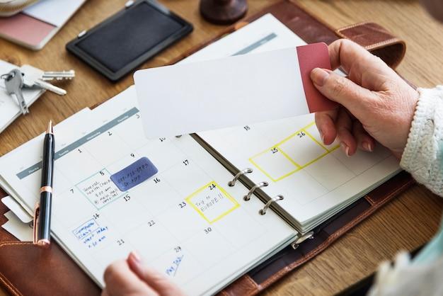 Lista kontrolna spotkań planowanie koncepcji osobistego organizatora