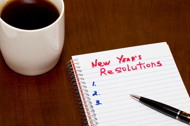 Lista ulepszeń w koncepcji noworocznej rezolucji