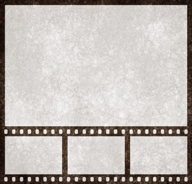 Listwa prezentacja filmu szablon grunge