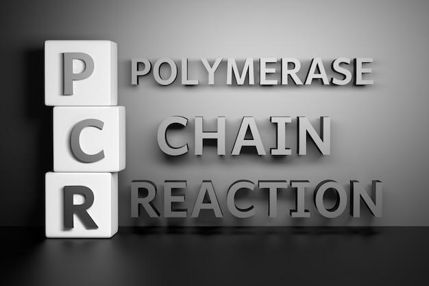 Litery pcr oznaczające reakcję łańcuchową polimerazy