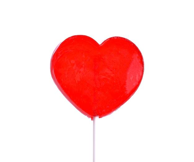 Lizak w kształcie serca