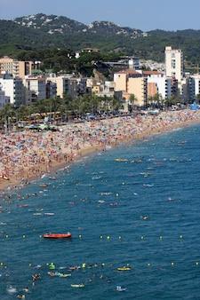 Lloret de mar, hiszpania
