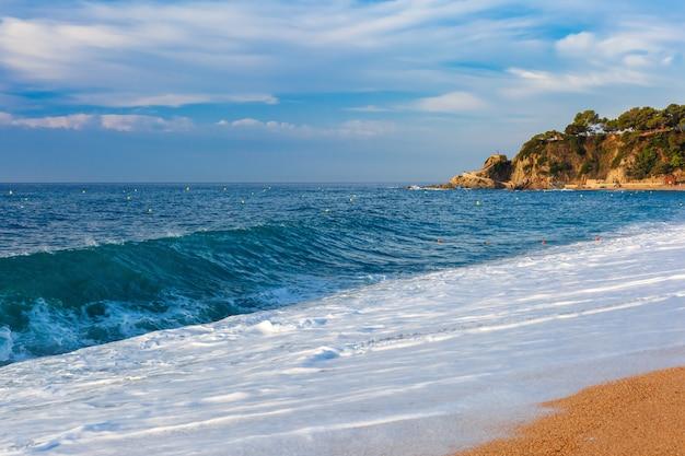 Lloret de mar na costa brava, katalonia, hiszpania