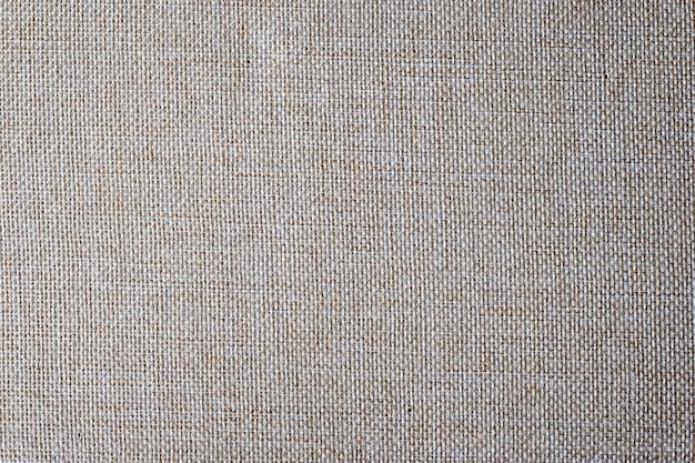 Lniana tkanina biege teksturowanej tło