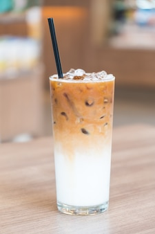 Lodowa kawa latte