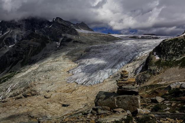 Lodowce w górach skalistych
