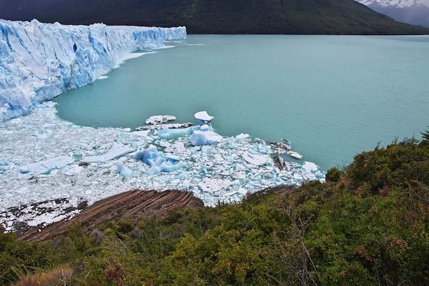 Lodowiec perito moreno blisko el calafate, patagonia, argentyna