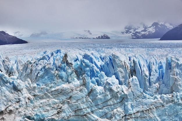 Lodowiec perito moreno w pobliżu el calafate, patagonia, argentyna