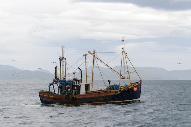 Łódź rybacka